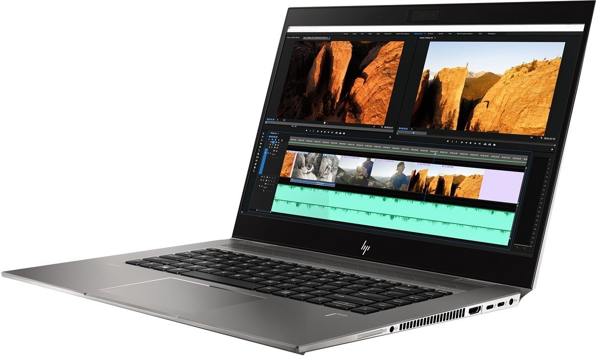 HP ZBook Studio G5 15 UltraHD 4K IPS Intel Core i7-8850H 6-rdzeni 16GB 512GB SSD NVMe NVIDIA Quadro P1000 4GB Windows 10 Pro
