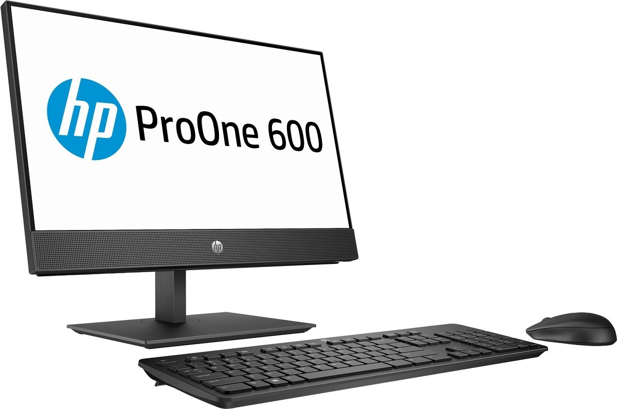 Dotykowy AiO HP ProOne 600 G5 22 FullHD IPS Intel Core i5-9500 6-rdzeni 8GB DDR4 1TB HDD Windows 10 Pro +klawiatura i mysz