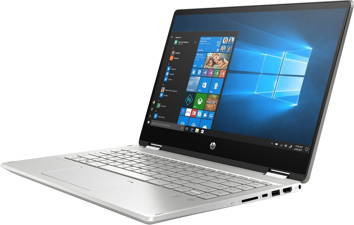 Dotykowy 2w1 HP Pavilion 14 x360 FullHD IPS Intel Core i7-10510U Quad 16GB DDR4 512GB SSD NVMe Windows 10