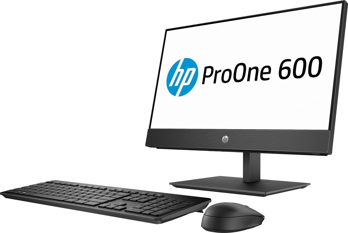 Dotykowy AiO HP ProOne 600 G5 22 FullHD IPS Intel Core i5-9500 6-rdzeni 8GB DDR4 256GB SSD Windows 10 Pro +klawiatura i mysz