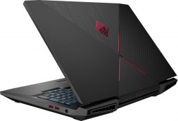 HP OMEN 17 FullHD IPS 144Hz Intel Core i7-8750H 6-rdzeni 16GB DDR4 256GB SSD NVMe 1TB HDD NVIDIA GeForce GTX 1070 8GB Windows 10
