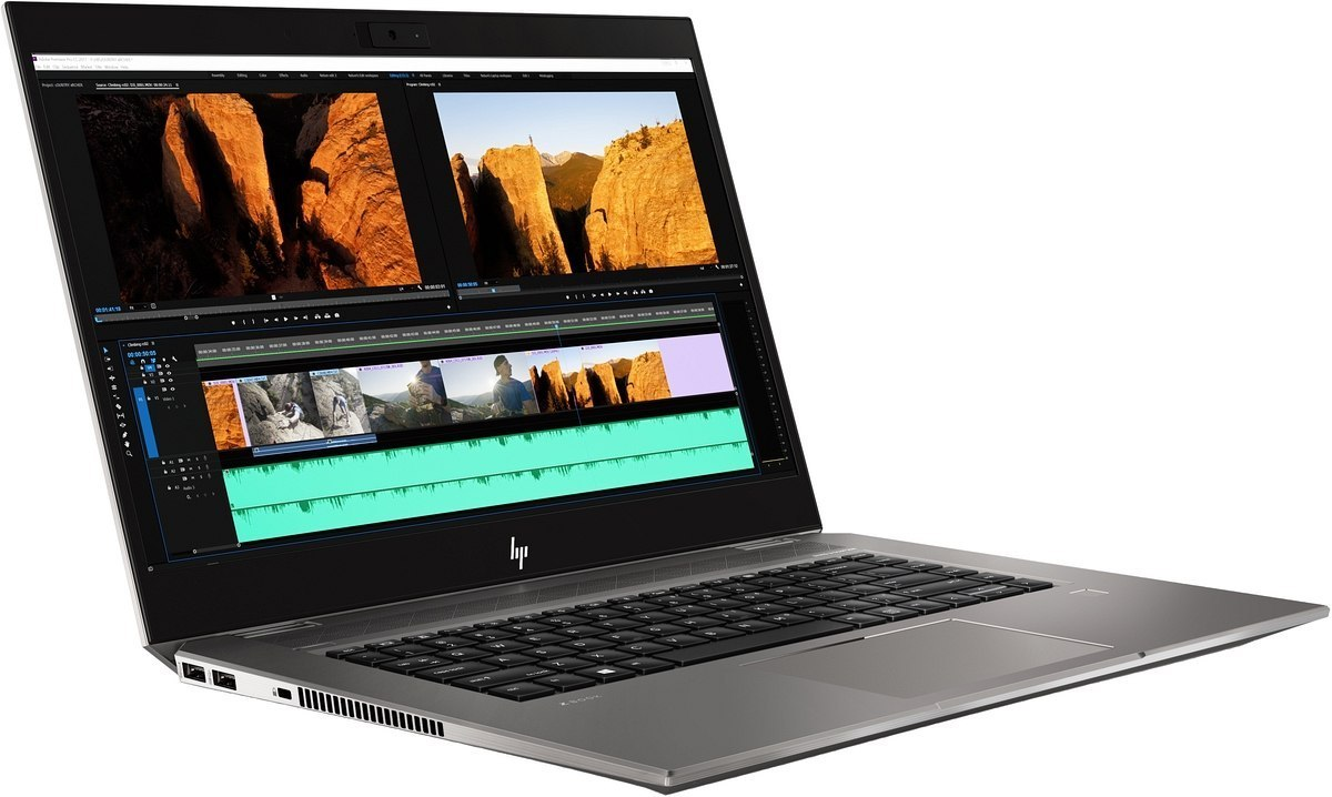 HP ZBook Studio G5 15 Intel Core i7-8750H 6-rdzeni 16GB DDR4 512GB SSD NVMe NVIDIA Quadro P1000 4GB VRAM Windows 10 Pro