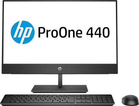 AiO HP ProOne 440 G5 24 FullHD IPS Intel Core i5-9500T 6-rdzeni 8GB DDR4 256GB SSD NVMe Windows 10 Pro +klawiatura i mysz