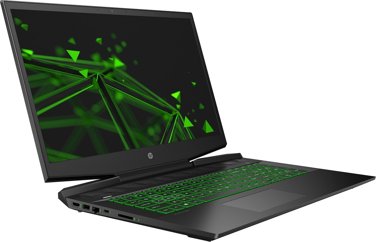 HP Pavilion Gaming 17 FullHD IPS Intel Core i7-9750H 6-rdzeni 8GB DDR4 256GB SSD NVMe 1TB HDD NVIDIA GeForce GTX 1650 4GB Win10