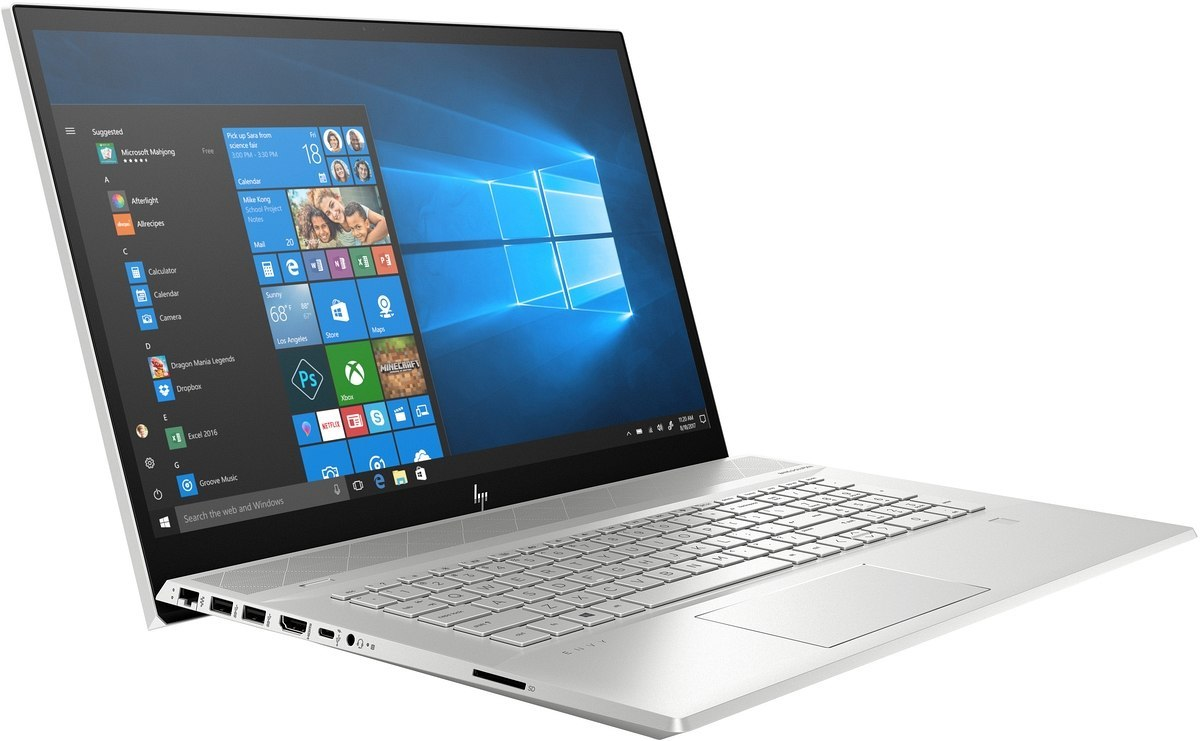 HP ENVY 17-ce FullHD IPS Intel Core i7-10510U Quad 16GB DDR4 1TB SSD NVMe NVIDIA GeForce MX250 2GB VRAM Windows 10