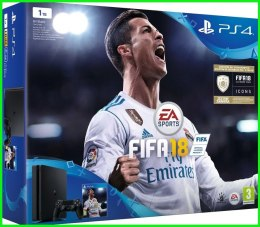 HIT SONY PlayStation 4 Slim 1TB FIFA 18 PL +PAD