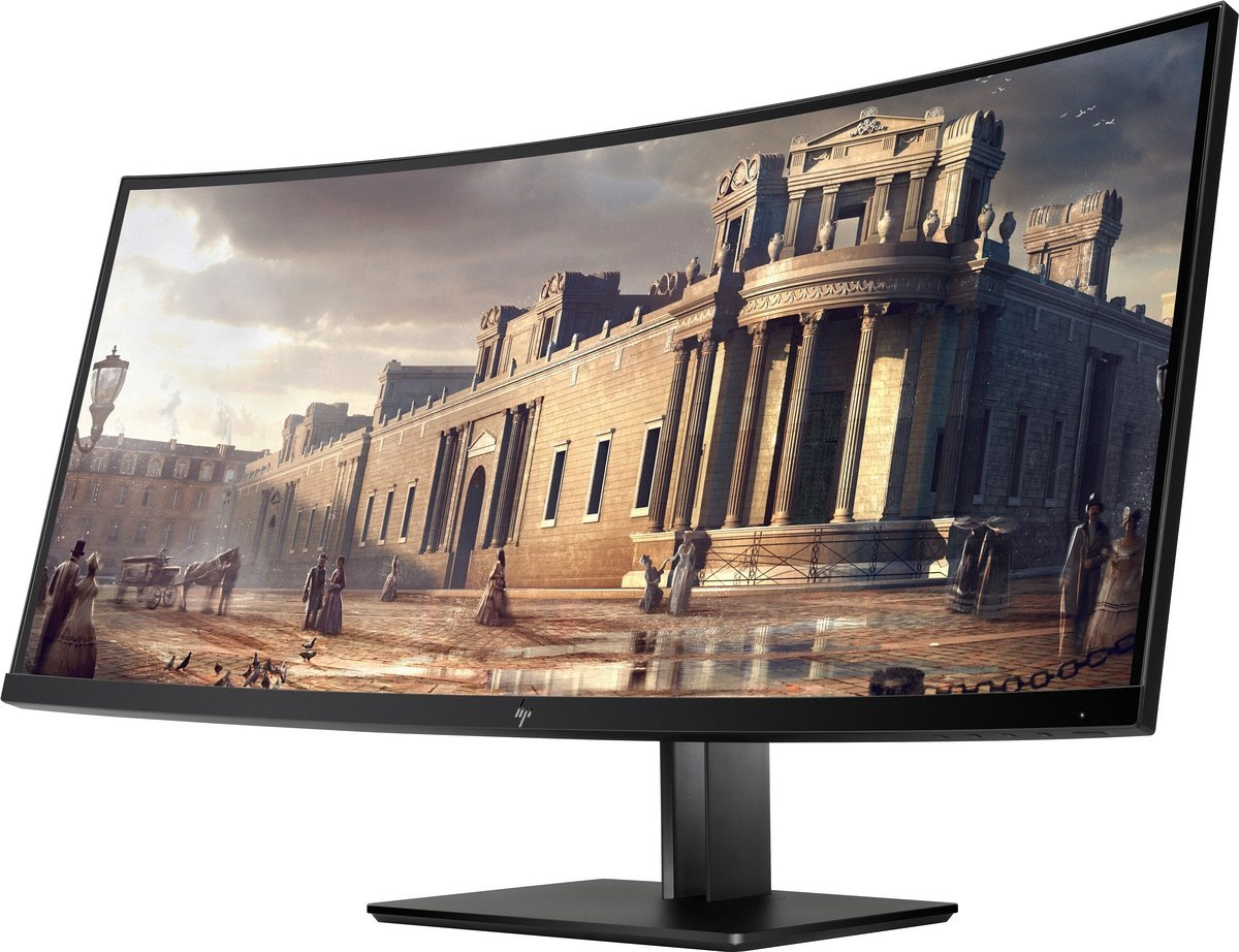 Monitor HP Z38c 37.5 cali Curved Ultra UWQHD+ 3840x1600 IPS HDMI DisplayPort Z4W65A4