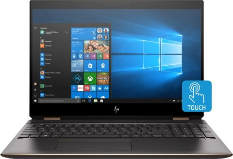 2w1 HP Spectre 15 x360 UltraHD 4K IPS Intel Core i7-10510U 16GB DDR4 1TB SSD NVMe NVIDIA GeForce MX250 2GB Windows 10