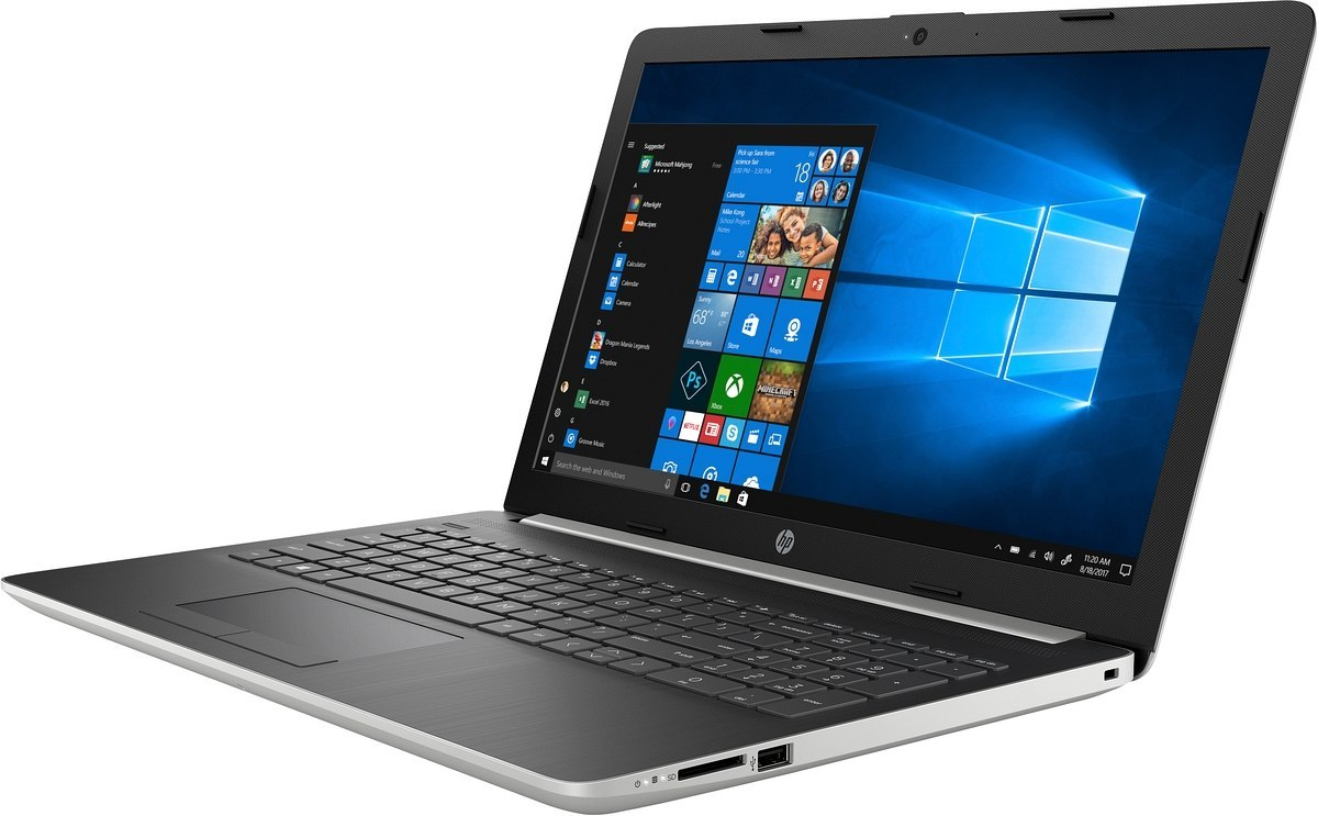 HP 15 FullHD Intel Core i7-10510U Quad 8GB DDR4 256GB SSD NVMe 1TB HDD NVIDIA GeForce MX130 4GB Windows 10